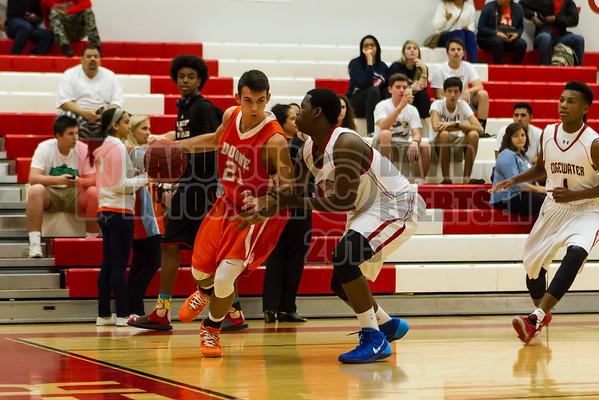 Boone Braves @ Edgewater Eagles Boys JV Basketball - 2015