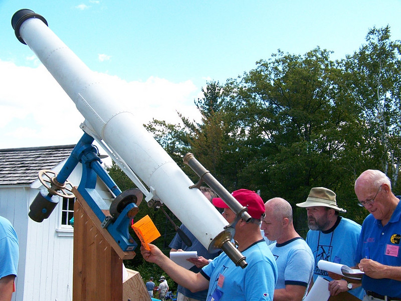 """""""Here come the judge(s)"""". Ok judges look over the telescope entries and read what is orifinal to this instrument, since it is a classic refractor, and what was fabricated. In this case most was original with some work to pier and other items."""