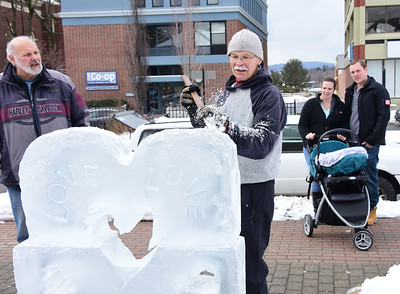 Ice sculpture carving - 021319