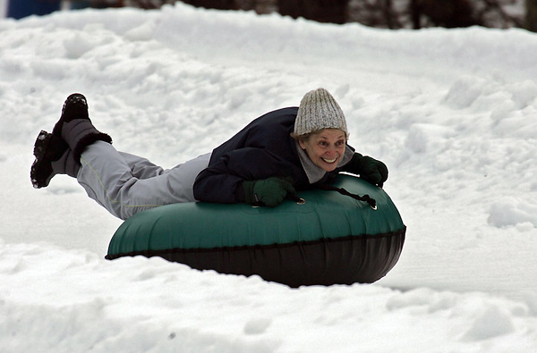 Jan 11 2010 - Tubing in Canaan Valley