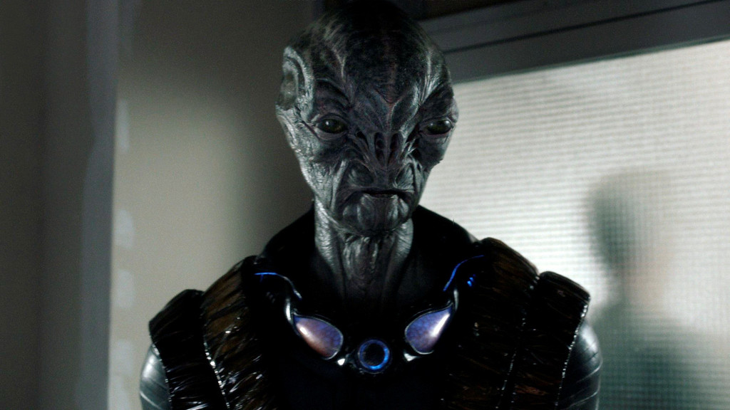 . Cochise, (played by Doug Jones), a leader of the rebel alien troops known as The Volm. Photo Credit: Courtesy of TNT