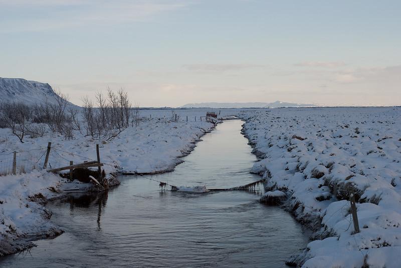 Enn einn áveituskurðurinn Another irrigation ditch