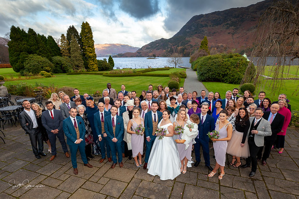 Abi and Josh at The Inn on the Lake - Ullswater