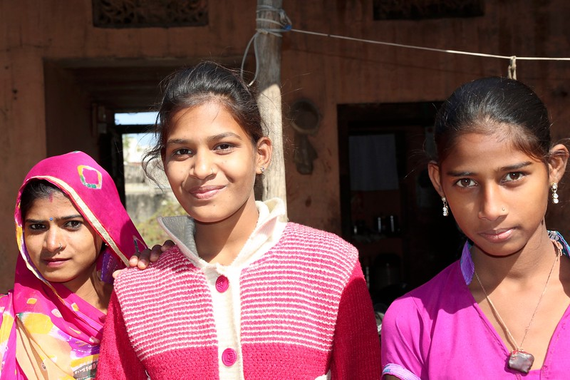 These two teen girls (with their aunt of the left) befriended us and were so warm and welcoming!
