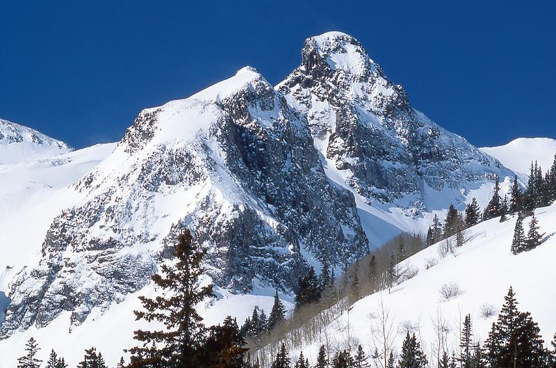Snowy Peaks of the San Juans