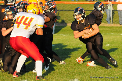 Jonesville vs Reading Football