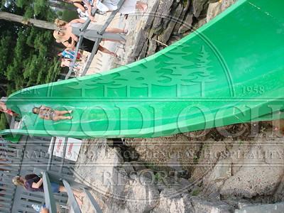 August 7 - Waterslide