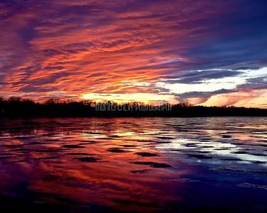 Pewaukee Lake Sunsets