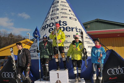 2012 - Feb 19th - FIS Bromont Slalom - Podium