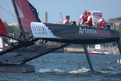 Day 3 - Extreme Sailing Series - Boston