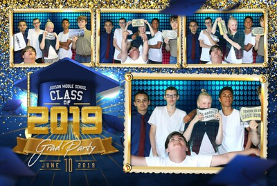 Judson MS Grad Party Photobooth 6.10.2019