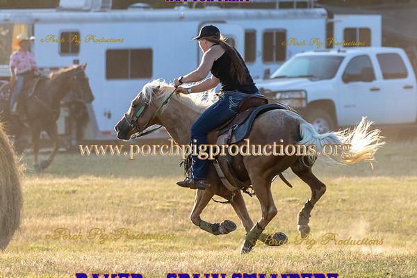Pasture Barrel Race