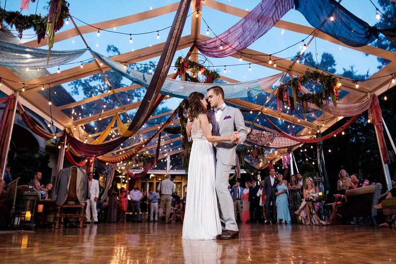 Kailley & Nick's Bohemian Backyard Wedding