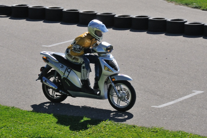 Scooter and Super Moto Race