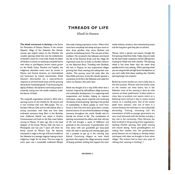 Selvedge Magazine #95 July/Aug 2020