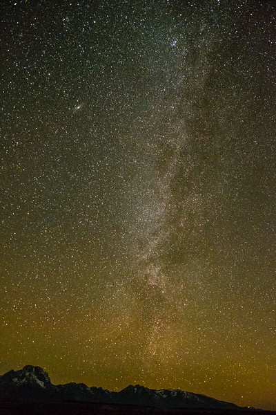 Milky Way in the Tetons