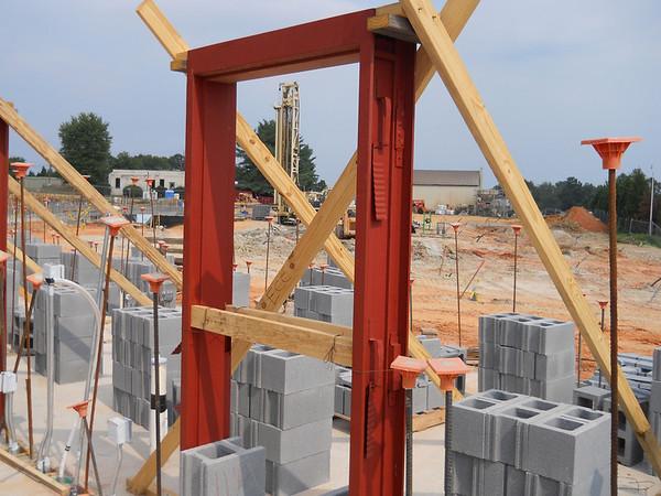 More Construction Photos - August 16, 2011