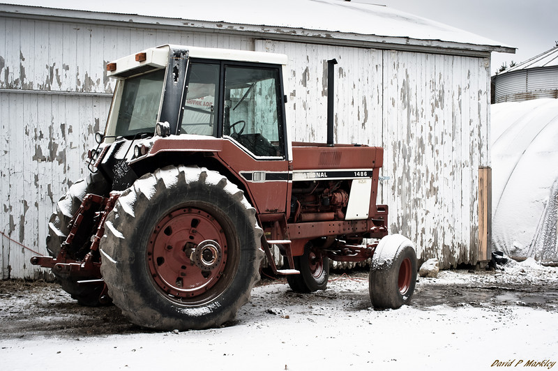 Parked Tractor
