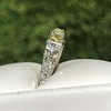 2.30ctw Fancy Yellow and White French Cut Diamond 5-Stone Band 5