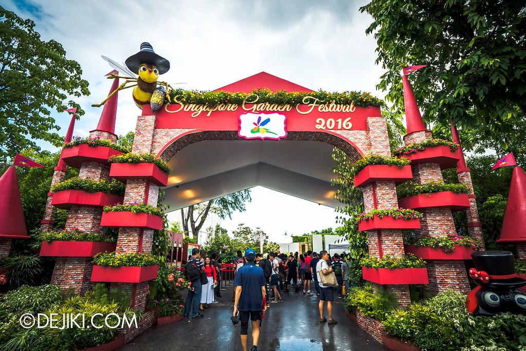 Singapore Garden Festival 2016 - Garden Fest castle arch