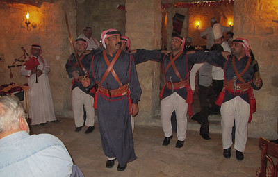 Jordan - Dinner at Bedouin Village with Jordanian Soldiers Dancing
