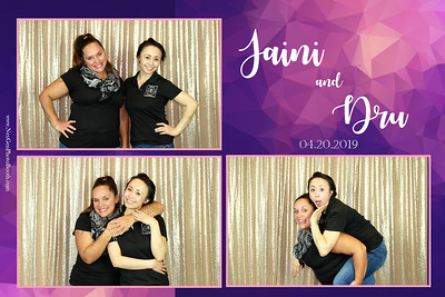 Jaini & Dru's Wedding 4/20/19