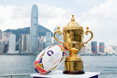 Rugby World Cup 2019 Trophy Tour @ Hong Kong - 24-26 May, 2018