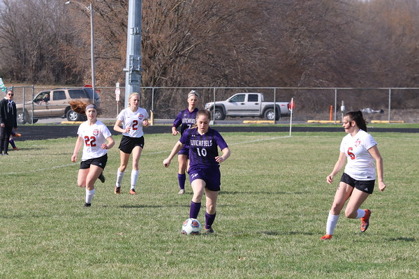 Aprl 1, 2019 - Litchfield Girls Soccer
