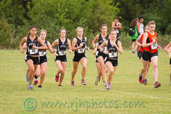Girls JV Jackrabbit Run