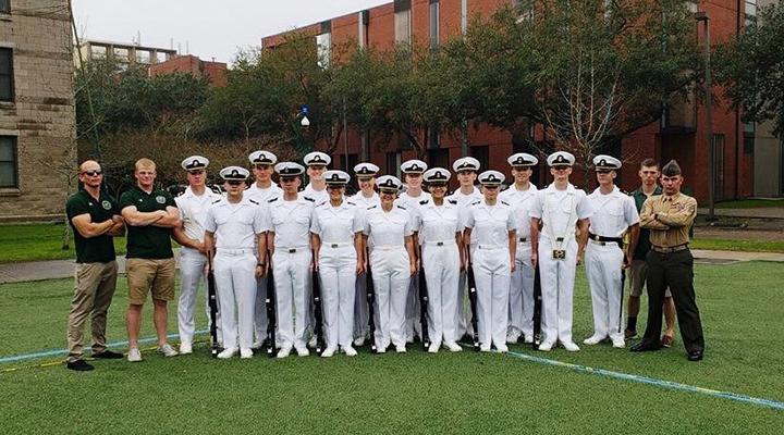 USF NROTC's Road to Tulane University Mardi Gras Drill Meet