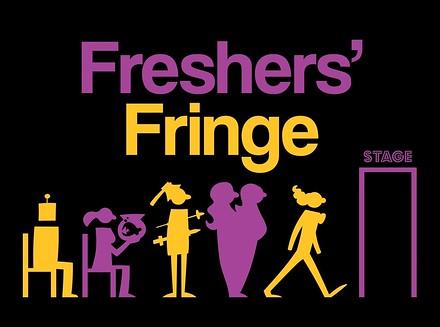 Freshers' Fringe poster