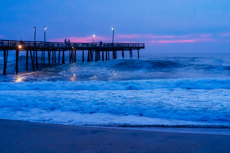 Surf at Sunrise in the Outer Banks