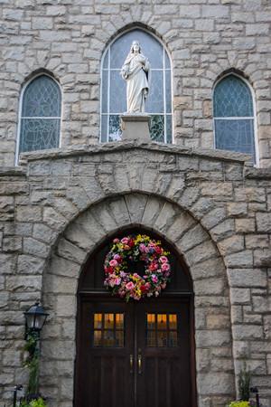 Easter Vigil at Sacred Heart 4-15-17