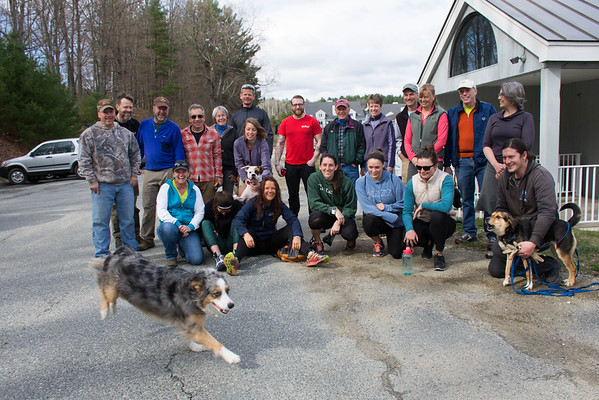 Human Paws For Earth Day Trail Event