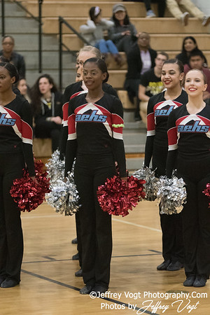 1-20-2018 Albert Einstein HS at Northwest HS Poms Invitational Division 2, Photos by Jeffrey Vogt Photography