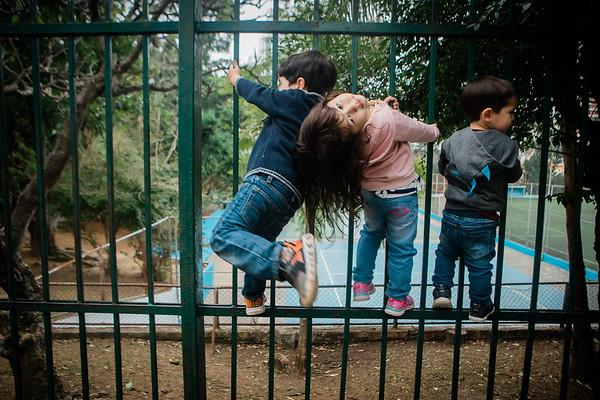 Daniel e Guilherme e família - Parque da Aclimação