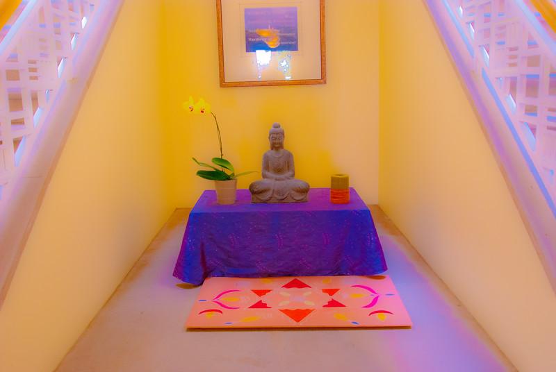 Art of living Ashram - Outside of meditation room