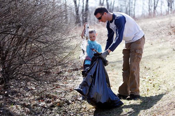2015 Springside Park Clean Up-041815