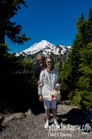 JULY 24, 2016:  MOUNT BAKER AREA WITH RON AND SUE