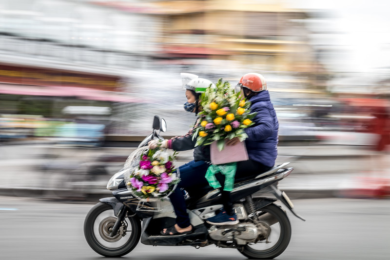 Floral delivery Hanoi Style
