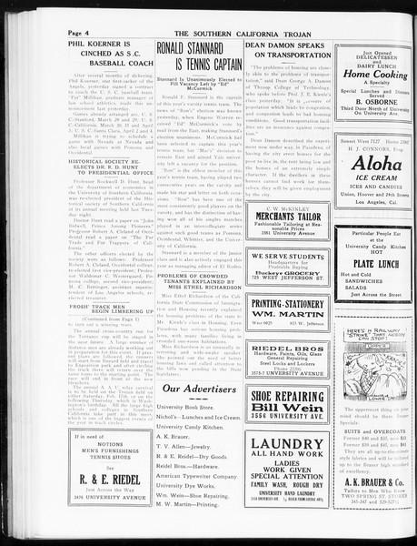 The Southern California Trojan, Vol. 8, No. 54, January 12, 1917