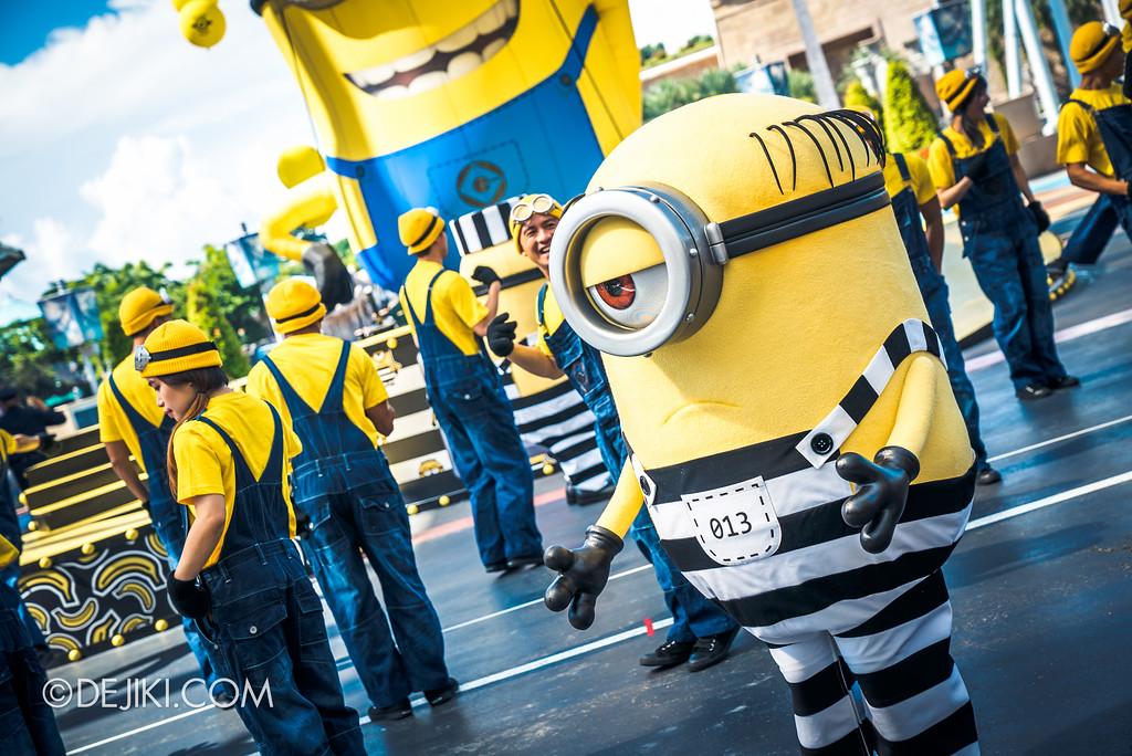 Despicable Me Breakout Party at Universal Studios Singapore / Jailbird Minion Mel