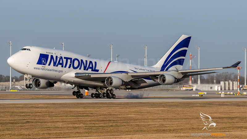 National Airlines / Boeing B747-428(BCF) / N702CA