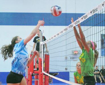AAU girls summer volleyball