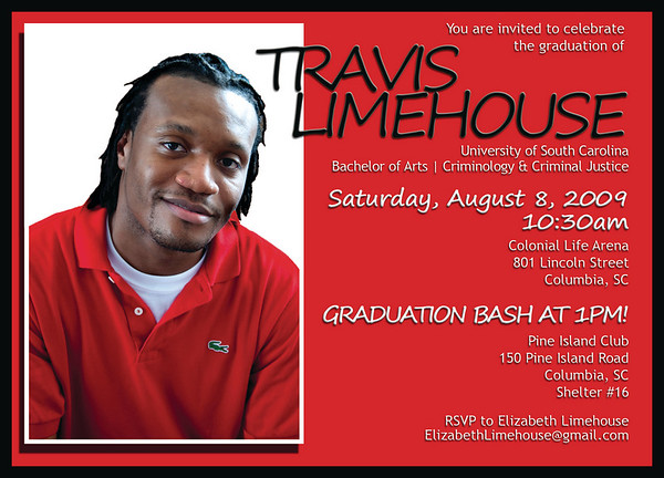 Limehouse Graduation Invitations
