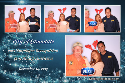 CIty Of Lawndale 2017 Employee Recognition and Holiday Luncheon