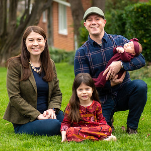 Deb & Ryan's Front Porch Portraits