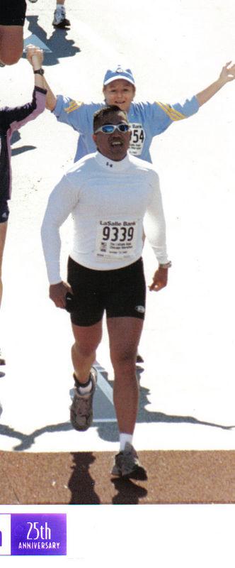 Chicago Marathon 2002
