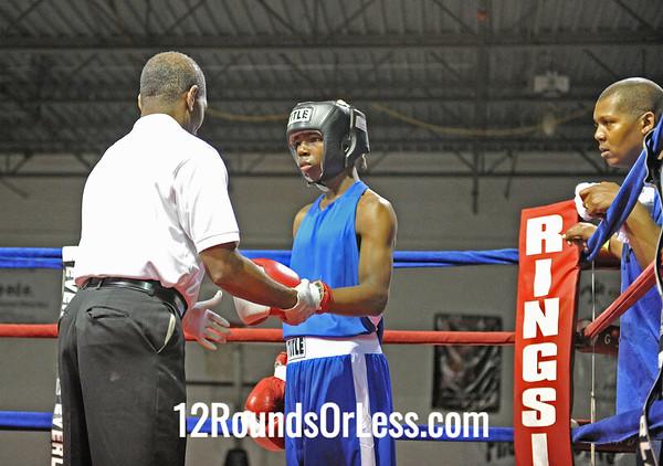Eric Miller (Blue Steel) vs Isaias Rosario (Freddies)  114 Pound Division  [Bout 12]