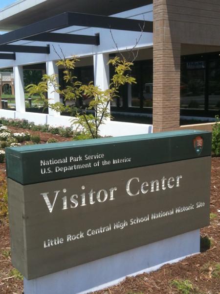 009 Visitor center in Little Rock for Central High landmark